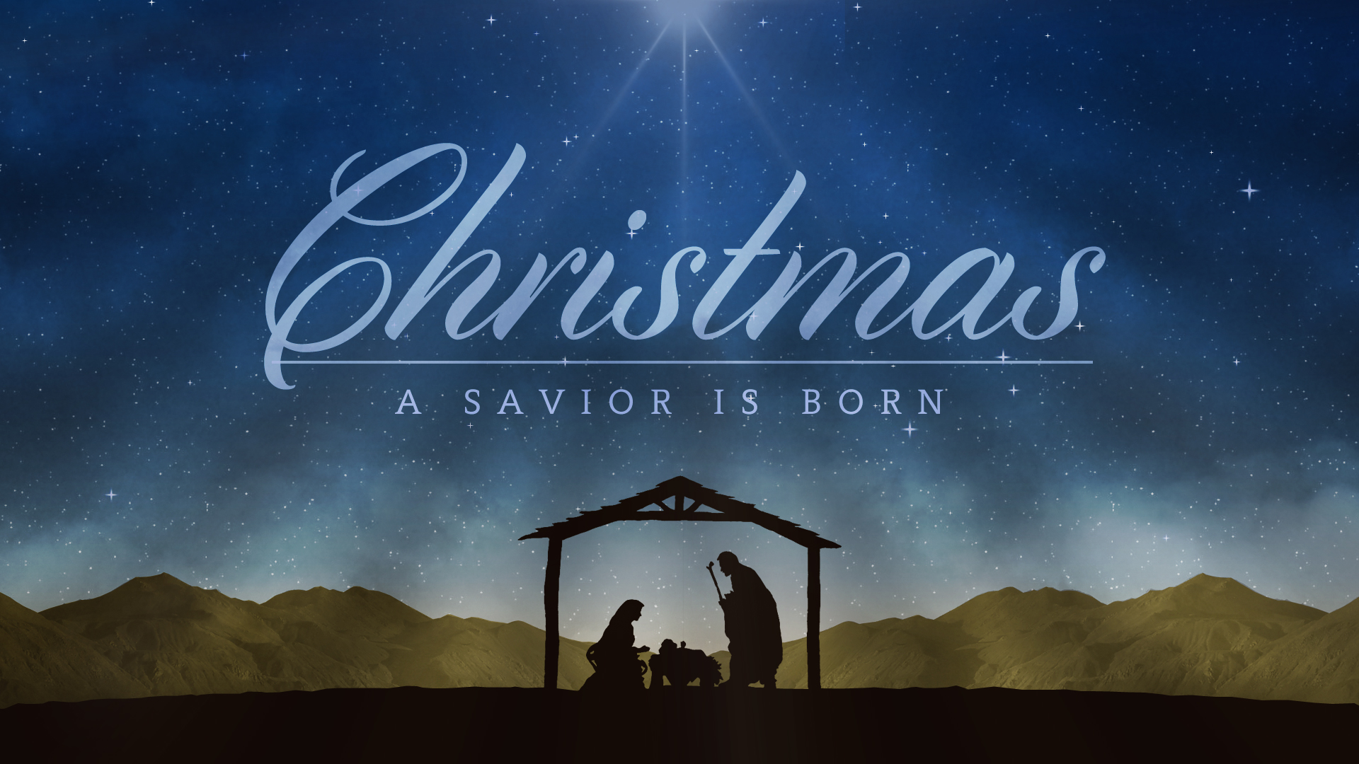 Have A Merry Christmas And A Blessed New Year!  Nativity_Night_Christmas_Still_Shift_Worship HD